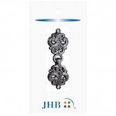 "Antiquity Clasp Silver 2"" (50MM)"