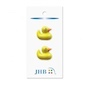 "Rubber Duck Yellow 7/8"" (22MM) -  3 Packages"