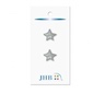 "Mini Star Silver 5/8"" (16MM) -  3 Packages"