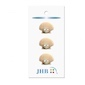 "Scallop Shell  3/4"" (19MM) -  3 Packages"