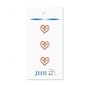 "Folk Heart  1/2"" (12MM) -  3 Packages"