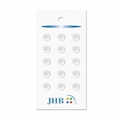 "Petit Buttons White 1/4"" (7MM) -  3 Packages"