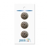 "Celtic Knot Silver 3/4"" (19MM) -  3 Packages"