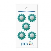 "He Loves Me Blue 3/4"" (19MM) -  3 Packages"