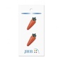 "Carrot Orange 1 1/8"" (28MM) -  3 Packages"