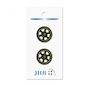 "Wheel Gold 7/8"" (22MM) -  3 Packages"